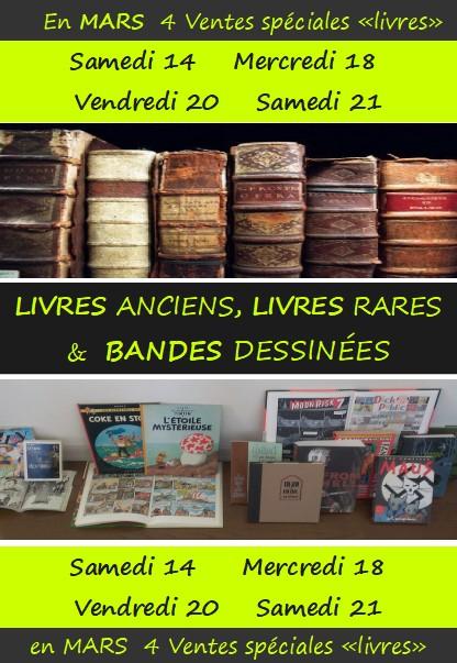 livres anciens & BD 2020-03