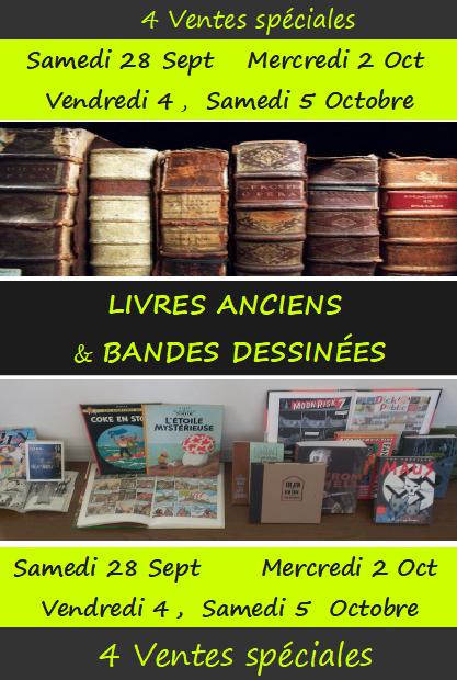 livres anciens et bd 201910