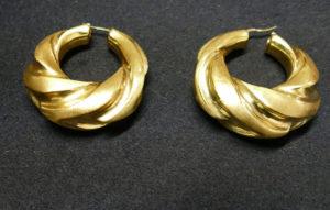 Boucles d'oreille Créole en or
