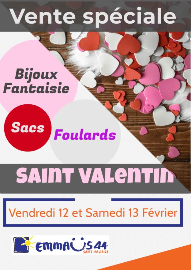 Vente Saint-Valentin - Emmaus 44 Saint-Nazaire